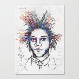 Basquiat 2 Canvas Print
