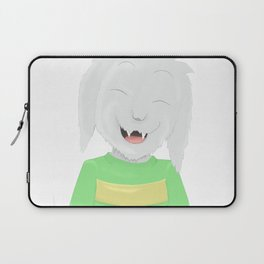 Asriel's happiness Laptop Sleeve