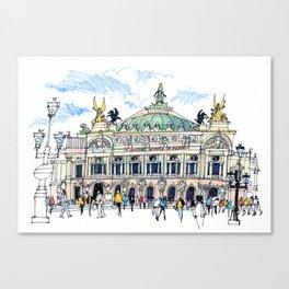 Palais Garnier, Paris Canvas Print
