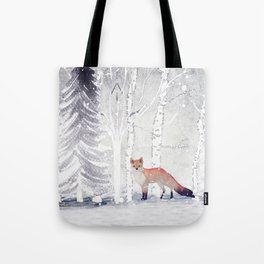 FOX FOX FOX Tote Bag