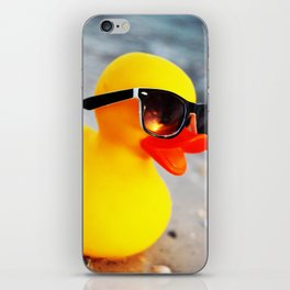 Beach Duck iPhone Skin