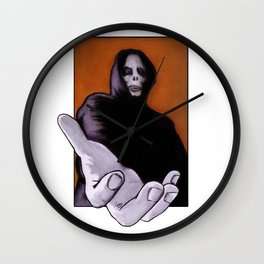 Death Goes In Fear of What It Cannot Be Wall Clock