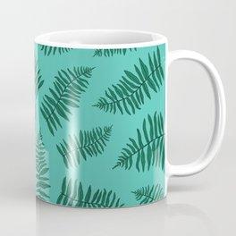 FERN PATTERN {seafoam} Coffee Mug