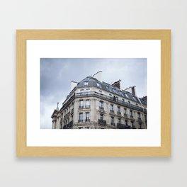 Paris Rooftop Framed Art Print