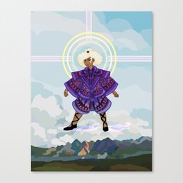 Tanaqui Above Dalemark Canvas Print
