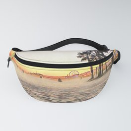 Santa Monica Beach - Art Fanny Pack