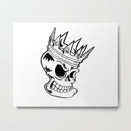 Cryptic Bind Metal Print