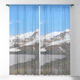 Glacier Walk and the Icelandic Troll Sheer Curtain