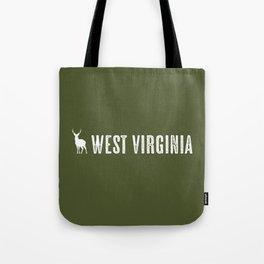 Deer: West Virginia Tote Bag
