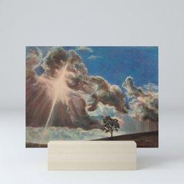 Across the Sky Mini Art Print