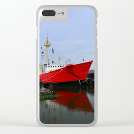 Lightship Overfalls Clear iPhone Case