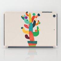 cactus iPad Cases featuring Whimsical Cactus by Picomodi