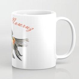 Happy Nowruz Demekin Goldfish Persian New Year Coffee Mug