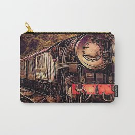 Steam Abstraction Carry-All Pouch