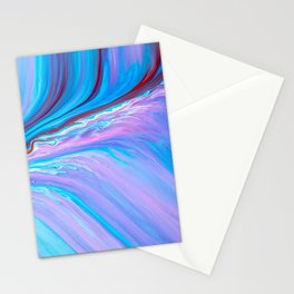 paint stains macro mixing abstraction Stationery Cards