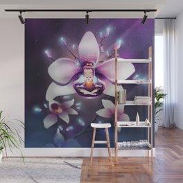 Orchid Meditation Wall Mural