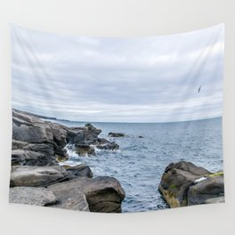 Icelandic Shore Wall Tapestry