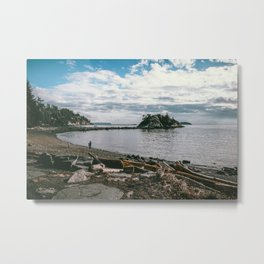 Whytecliff Park Metal Print