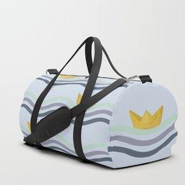 Origami sea Duffle Bag