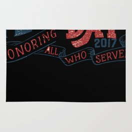 Veterans Day 2017 Rug