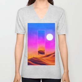 That which preceds everything Unisex V-Neck