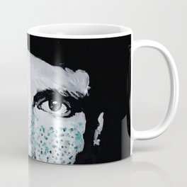 Male portrait with freckles Coffee Mug