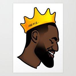 King of LA Art Print