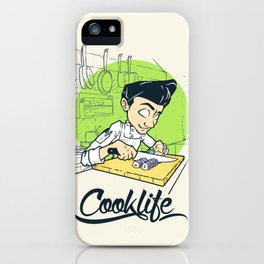 Cook Life iPhone Case