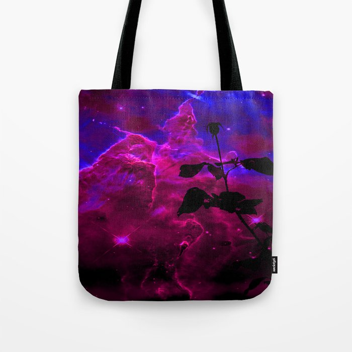 A Rose in Space Tote Bag