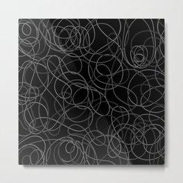 Time is elastic Metal Print