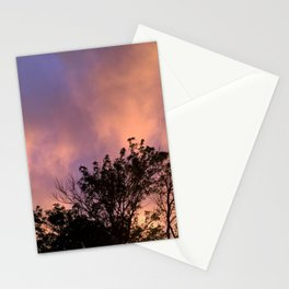 the skeleton of sunsets Stationery Cards