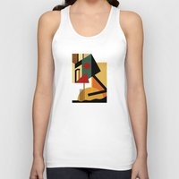 kandinsky Tank Tops featuring THE GEOMETRIST by THE USUAL DESIGNERS