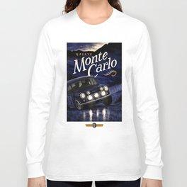 Motor Style Inc.: Rallye Monte Carlo Long Sleeve T-shirt
