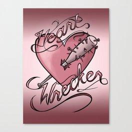 Heart Wrecker Canvas Print