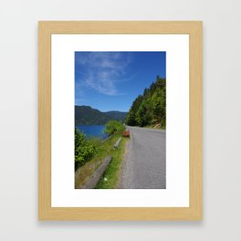 The Road to Paradise Framed Art Print