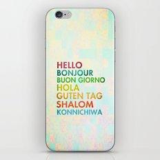 Multi Cultural iPhone & iPod Skin