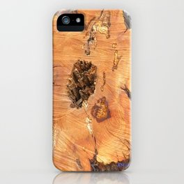 TEXTURES - Manzanita in Drought Conditions #2 iPhone Case