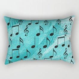 Music notes Rectangular Pillow