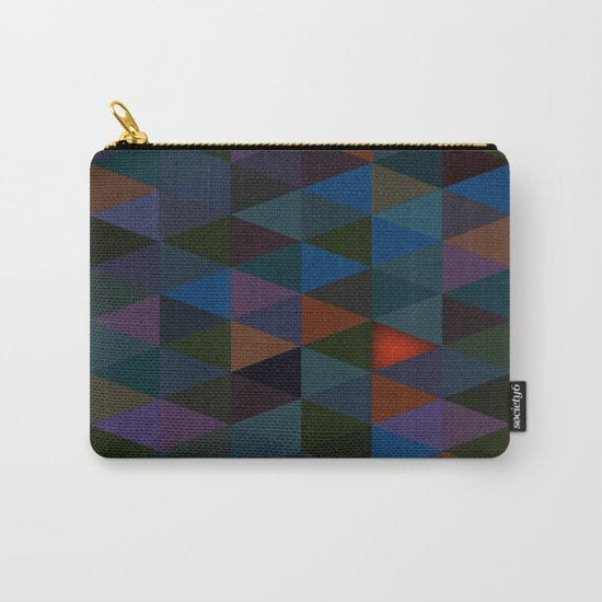Abstract #283 Campfire Light Carry-All Pouch