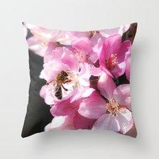 The taste of Spring Throw Pillow
