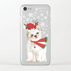 Christmas Cutie Clear iPhone Case