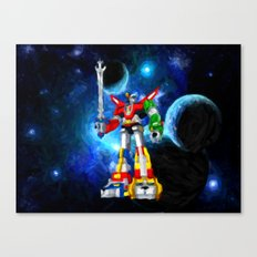 Voltron - Painting Style Canvas Print
