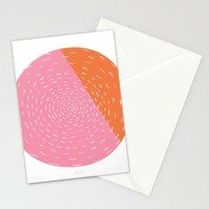 Retro Mod Flowers #4 by Friztin Stationery Cards