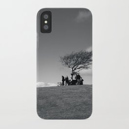 at the meeting place... iPhone Case