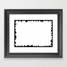 Emptiness 003 Framed Art Print