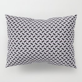 Gridded Pillow Sham