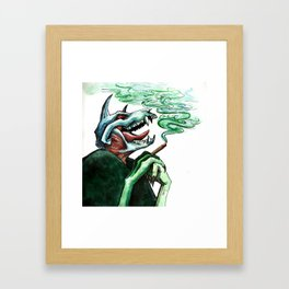 Blunted Framed Art Print