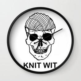 knitwit Wall Clock