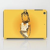 soul eater iPad Cases featuring Tsubaki Nakatsukasa soul eater by Rebecca McGoran