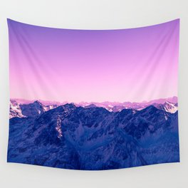 Pink Mountains #society6 #photography Wall Tapestry
